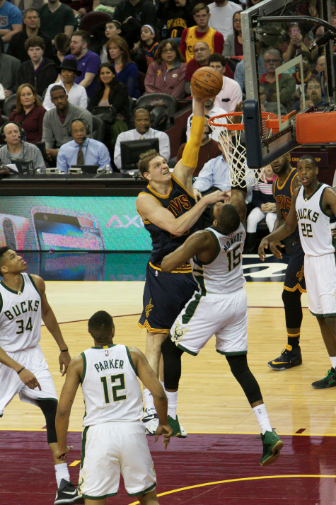 Cavaliers vs. Milwaukee Bucks - March 23, 2016