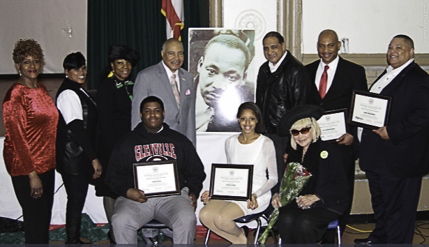 The 16th annual march in memory of Reverend Dr. Martin Luther King Junior