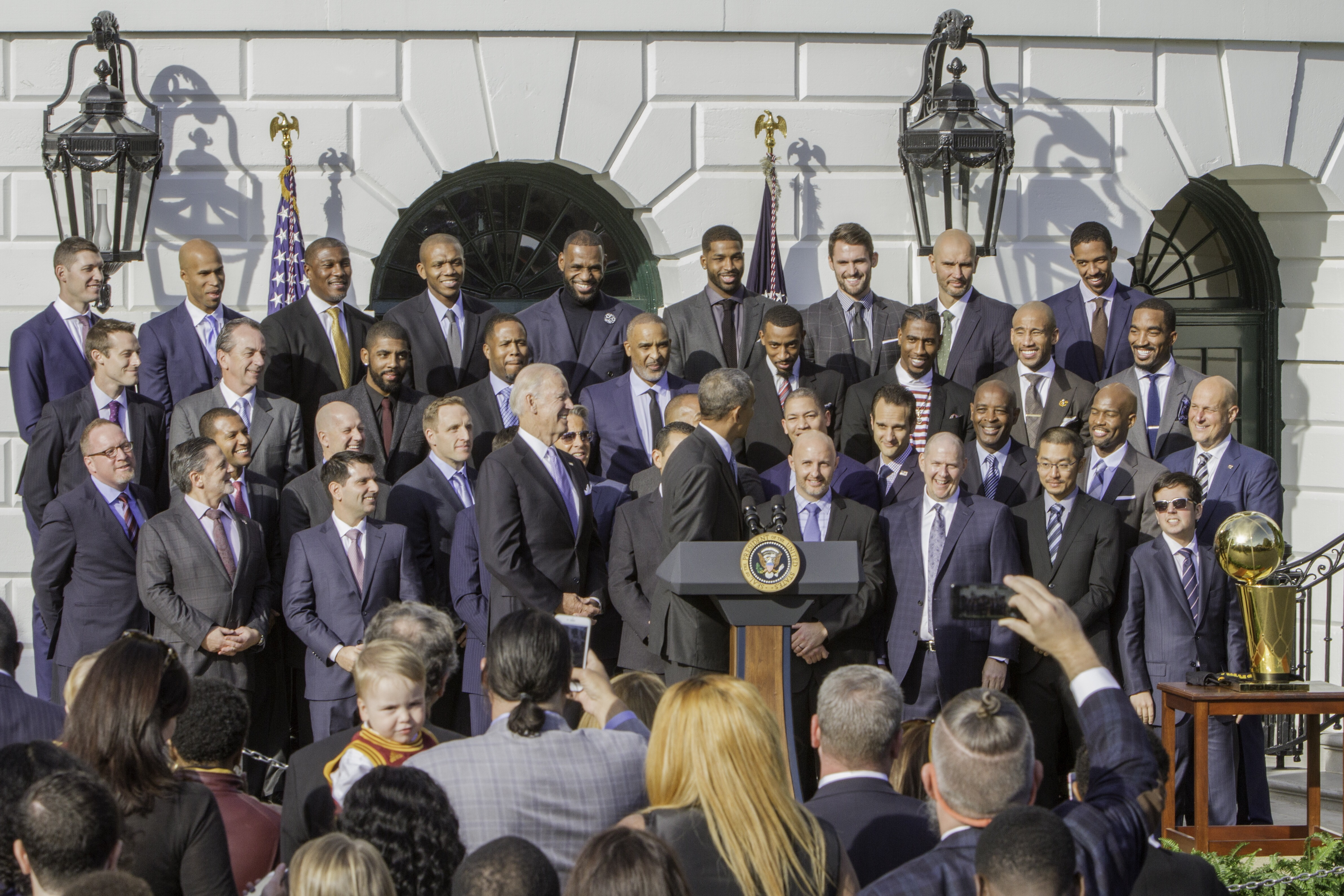 #PresidentObama, ClevelandCavaliers, WhiteHouse, GeorgioSabino, GS3Photography